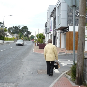 local-villager-on-the-moycullen-main-road