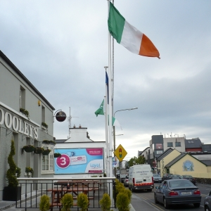 tricolour-flag-flying-in-moycullen-village