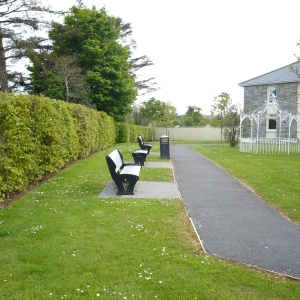 park-seats-at-an-fuaran-moycullen-galway