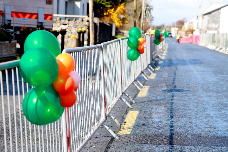 Moycullen's St. Patrick's Day Parade 2013 - Street decorations