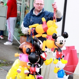 Moycullen\'s St. Patrick\'s Day Parade 2013 - Disney characters come to Moycullen
