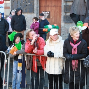 Moycullen\'s St. Patrick\'s Day Parade 2013 - locals watching the parade