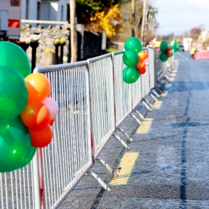 Moycullen\'s St. Patrick\'s Day Parade 2013 - Street decorations