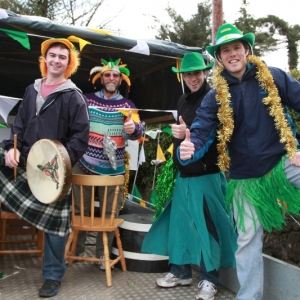 Moycullen\'s St. Patrick\'s Day Parade 2013 - one of the floats at the parade