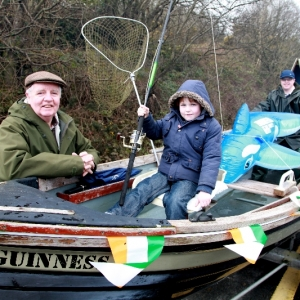 Moycullen\'s St. Patrick\'s Day Parade 2013 - a fishing boat without water