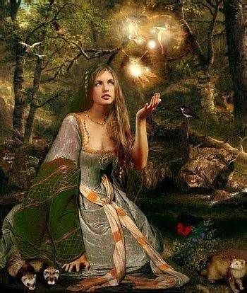 Airmed, Irish goddess associated with healing and resurrection