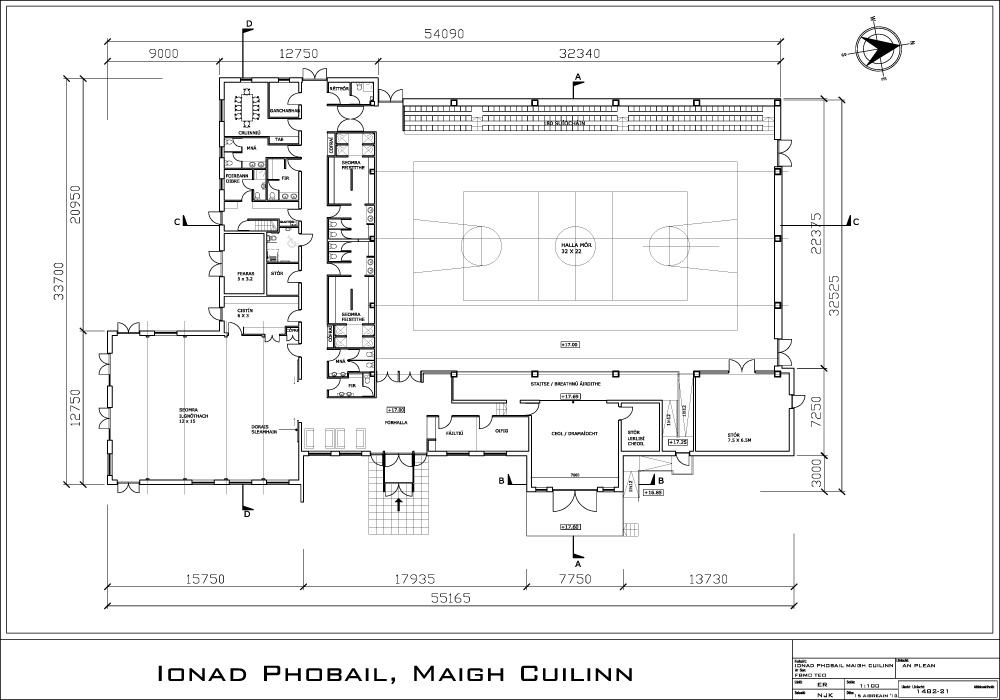 Plan for new Moycullen Community Centre