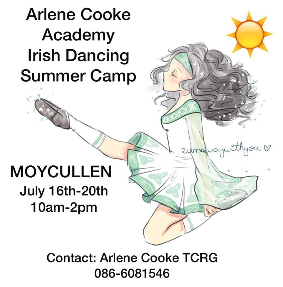 Arleen Cooke School of Irish Dancing Summer camp 2018