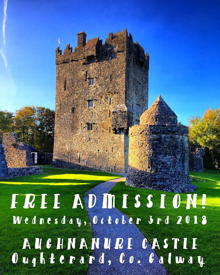 Aughnanure Castle Free entry