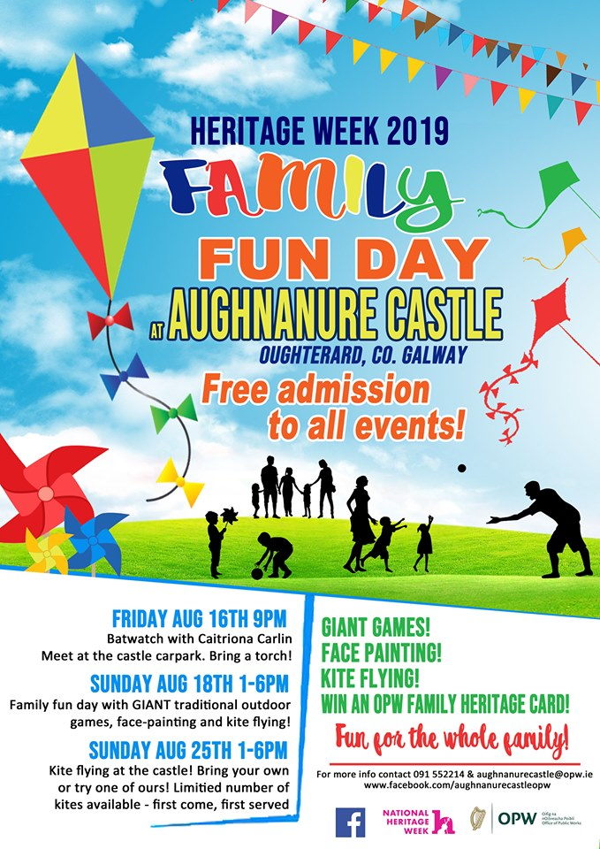 Funday at Aughnanure Heritage week 2019