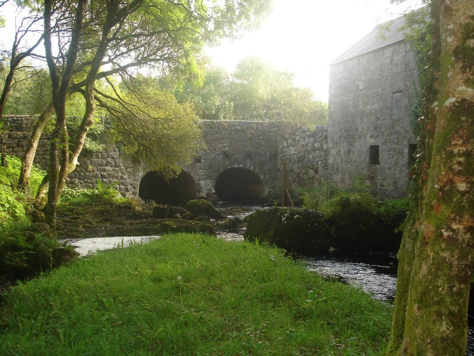 Old Clydagh Bridge Moycullen