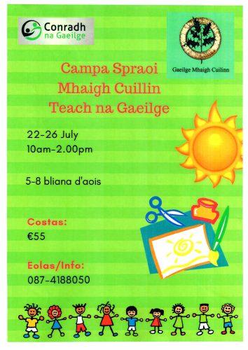 Irish language summer camp moycullen 2019