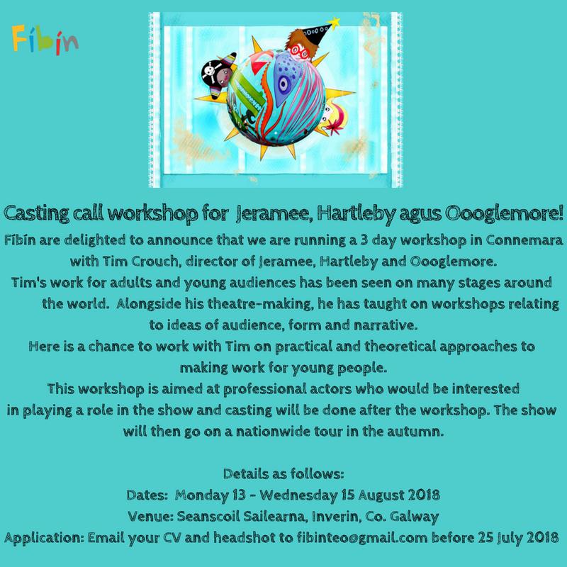 Casting workshop in Connemara