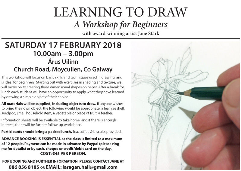 Learn to draw Moycullen
