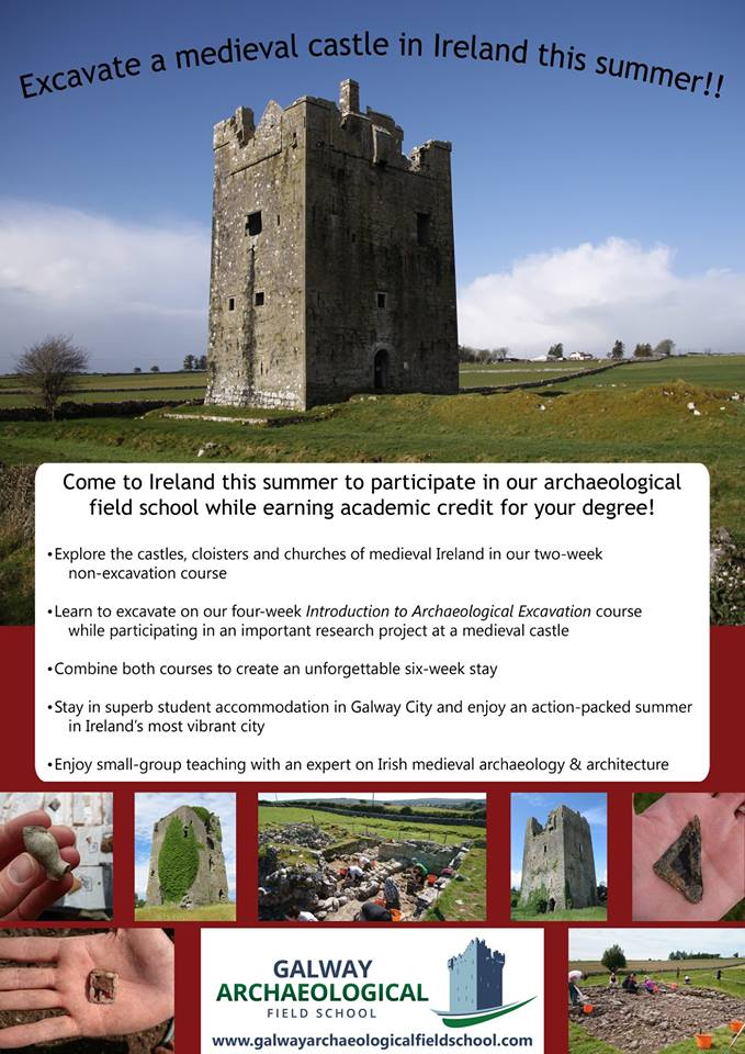 Galway archaeological field school 2018