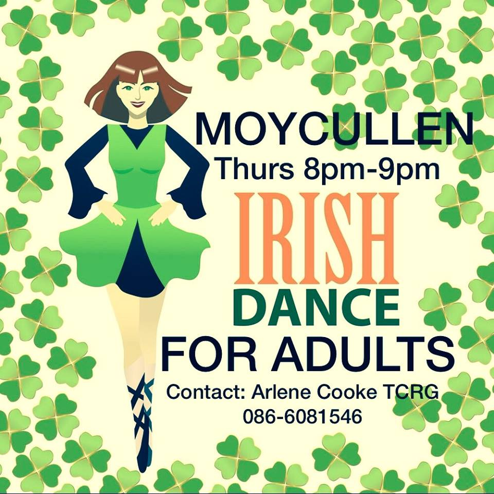 Irish Dance classes Aras Uilinn moycullen