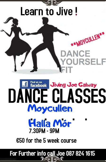 Jivin Joe - Jiving Dance Lessons Moyculen, Halla Mór