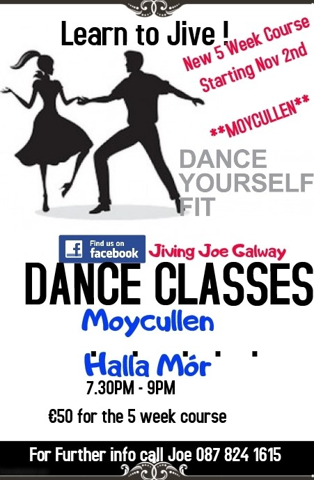 Jiving dance classes in Moycullen