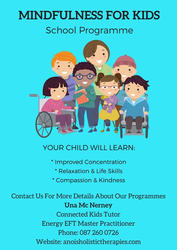 Mindfulness for Kids Áras Uilinn Moycullen