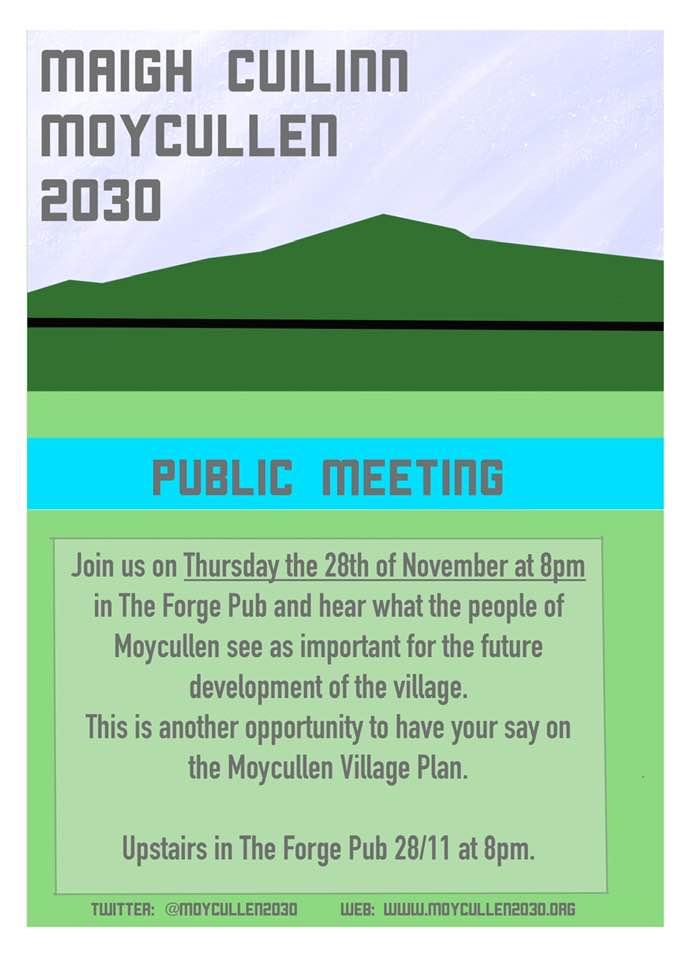 Moycullen 2030 meeting Nov 2019