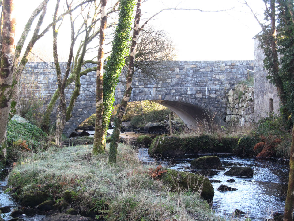 New Clydagh Bridge, Moycullen Nov 2016