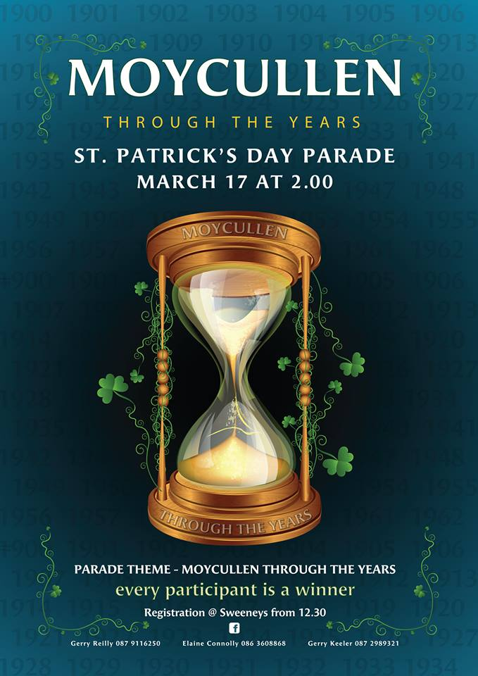St Patrick's Day Parade Moycullen 2019