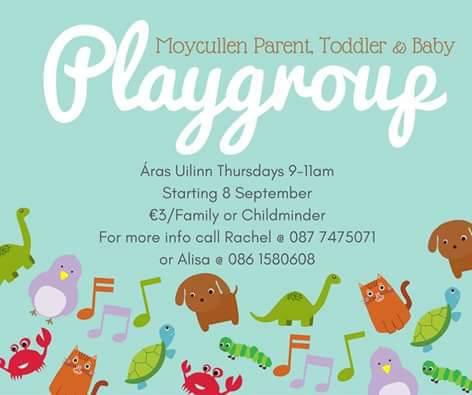 Parent and Toddler Group Moycullen/Maigh Cuilinn