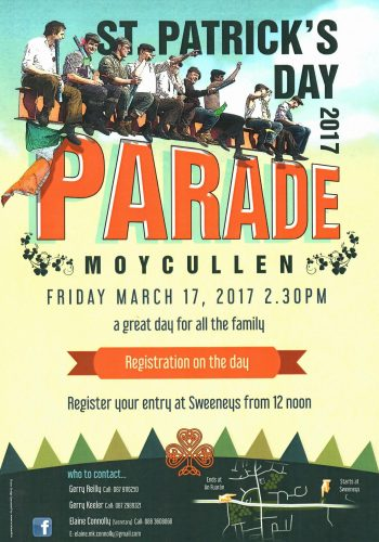 Enter the Moycullen St. Patrick's Day Parade