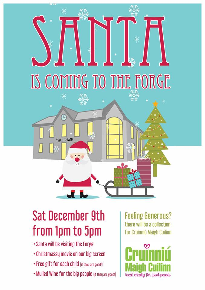 Santa at the Forge Moycullen