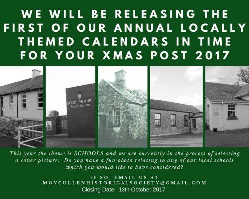 Moycullen Schools Calendar 2017
