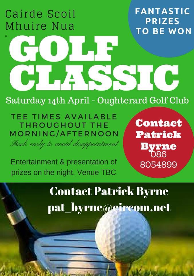 Scoil Nua Mhuire Mhaigh Cuilinn Golf Classic