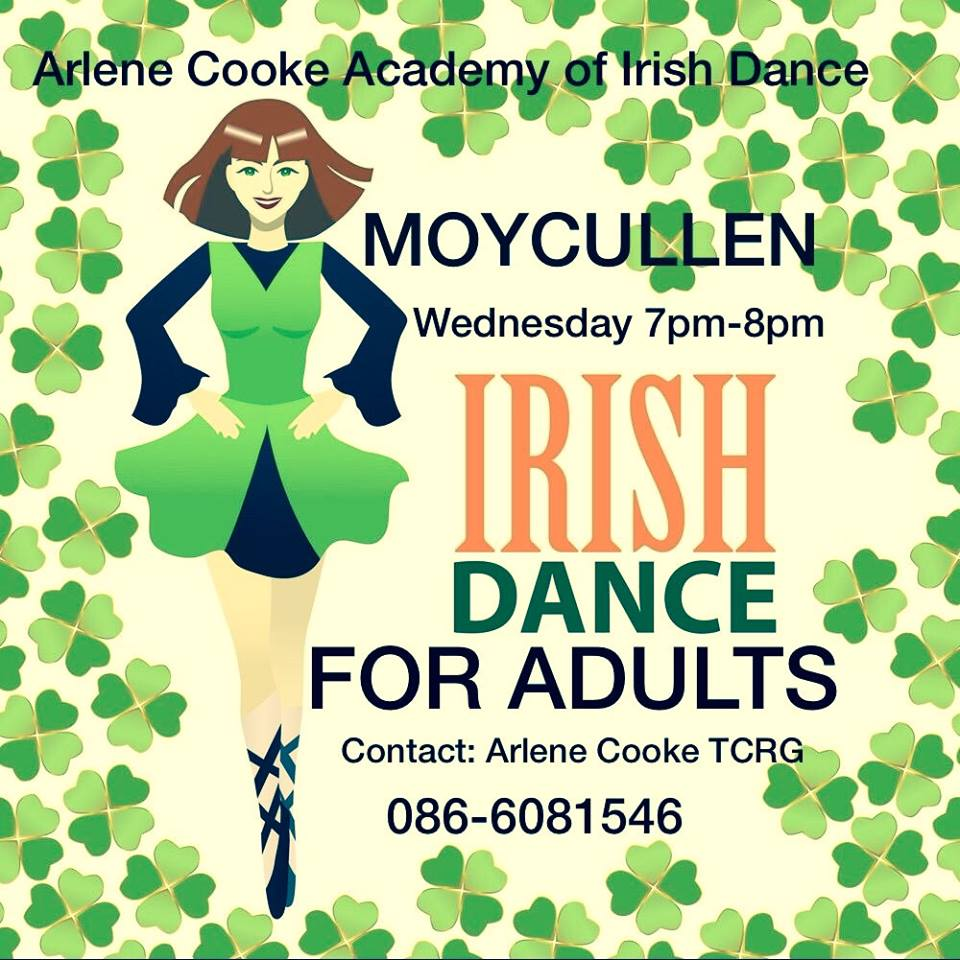 Arleen Cooke Adult Irish Dancing lessons Moycullen