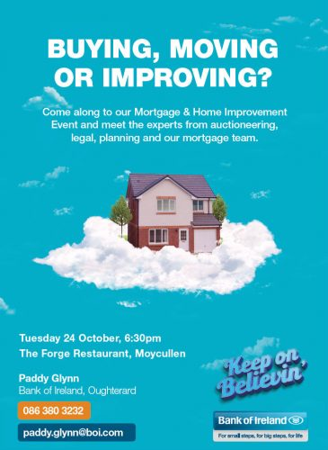 Mortgage information evening Moycullen