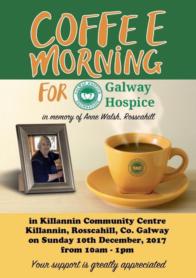 Coffee morning Killannan, Moycullen