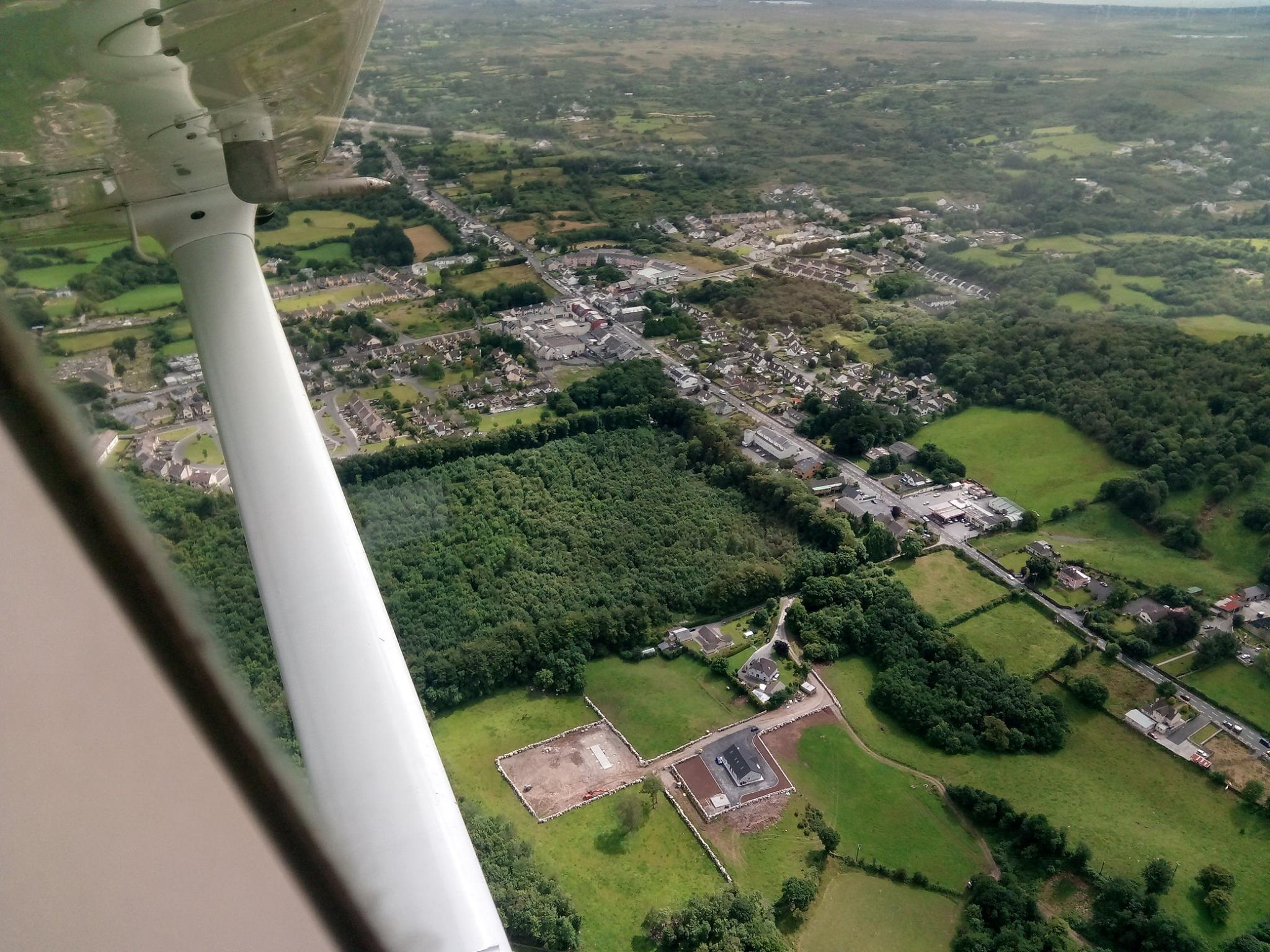 Moycullen Aerial View